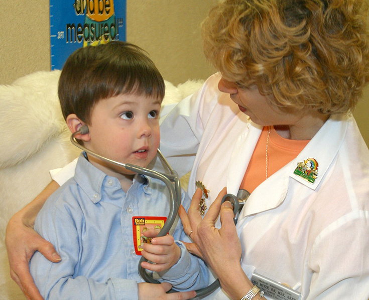 Child with Pediatrician